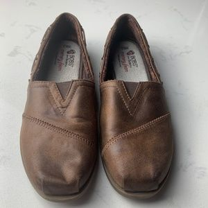 Bobs Skechers Leather Loafers~Size 8.5